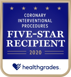Coronary Interventional Procedures Five-Star Recipient 2020